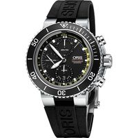 Oris Aquis Depth Gauge 深度測量計時碼錶套組 #45 黑 #47 4