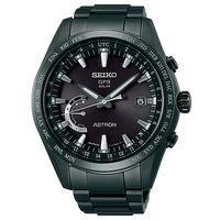 SEIKO 精工 ASTRON GPS 黑色風暴衛星太陽能電波腕錶 ^#47 45mm ^