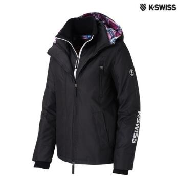K-Swiss Outdoor Light Weight Jacket外套-女-黑