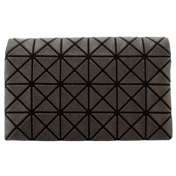 三宅一生 BAOBAO幾何方格4x6萬用卡片夾(霧面咖)