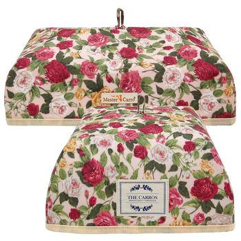 卡蘿保溫餐蓋(魚盤蓋+湯碗蓋)-粉底薔薇