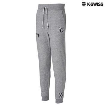 K-Swiss Sweatpant運動長褲-男-炭灰