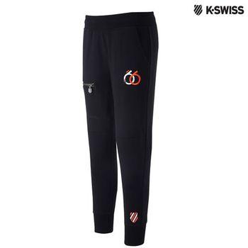 K-Swiss Sweatpant運動長褲-女-黑