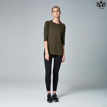 【Drago】透氣導汗多功能運動瑜珈外搭罩衫/上衣-軍綠