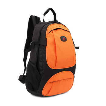 【Freebond】15吋電腦休閒公事包/ 筆記型電腦/ 保護套/ 攜帶包/後背包/雨套 FRN-202橘黑