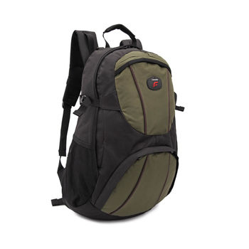 【Freebond】15吋電腦休閒公事包/ 筆記型電腦/ 保護套/ 攜帶包/後背包/雨套 FRN-201 黑綠