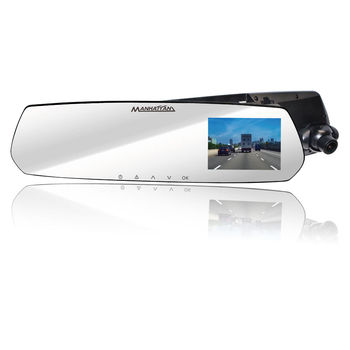 MANHATTAN RS10P 4K UHD 2160P 高畫質 後視鏡 行車紀錄器