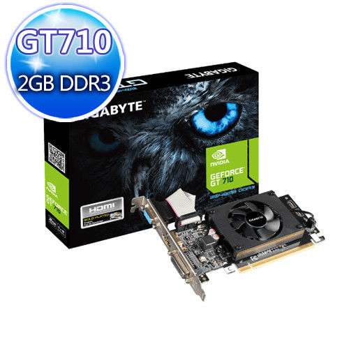 GIGABYTE 技嘉 GV-N710D3-2GL 顯示卡