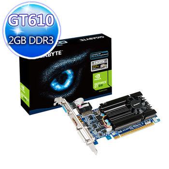 GIGABYTE 技嘉 GV-N610D3-2GI 顯示卡