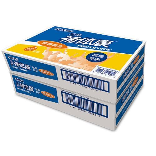 【三多】補体康高纖高鈣營養配方2箱(24罐/箱)