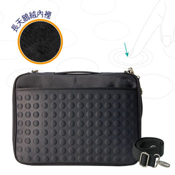 Obien 13~14吋 防震天梭電腦包 - 黑色