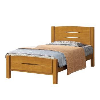 Bernice-愛德華樟木3.5尺單人床(不含床墊)