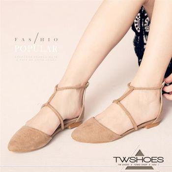 【TOMO】韓風極致性感鏤空平底包鞋(K130B3400)