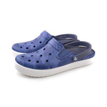 Crocs 休閒鞋 藍 男鞋 no378