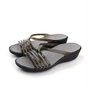 Crocs 拖鞋 黑色 女鞋 no370