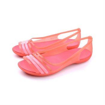 Crocs 涼鞋 桔 女鞋 no369