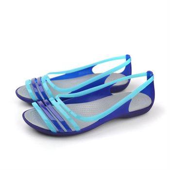 Crocs 涼鞋 藍 女鞋 no368