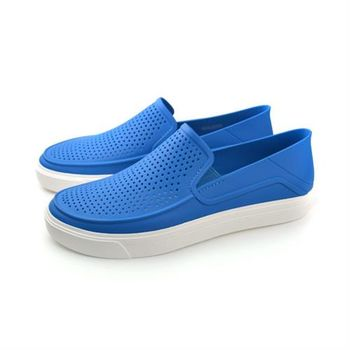 Crocs 休閒鞋 藍 男鞋 no365