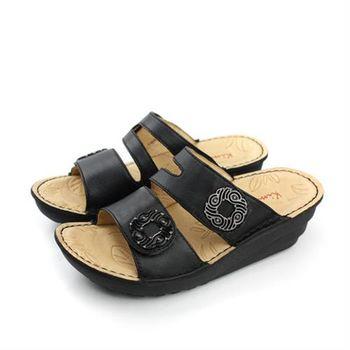 Kimo 拖鞋 黑色 女鞋 no463