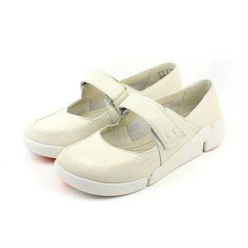 Clarks Tri Amanda 休閒鞋 白 女鞋 no743