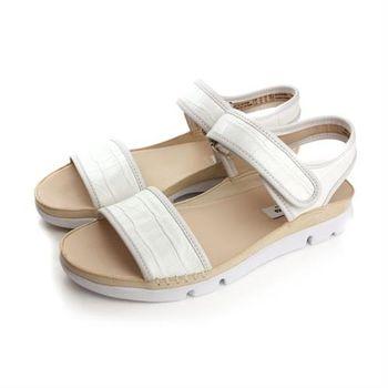 Clarks Tri Nova 涼鞋 白 女鞋 no742