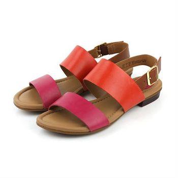 Clarks Viveca Aztek 涼鞋 桃紅色 女鞋 no740
