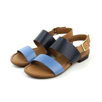 Clarks Viveca Aztek 涼鞋 深藍色 女鞋 no739