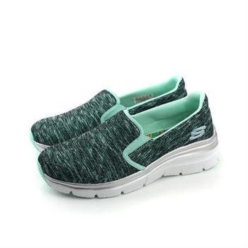 SKECHERS Air-Cooled 布鞋 綠色 女鞋 no415