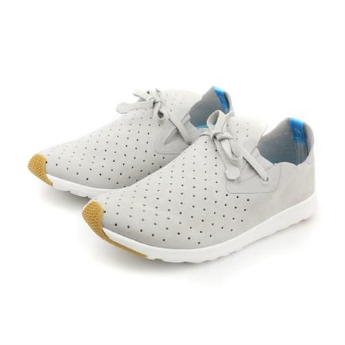 native APOLLO MOC 阿波羅系列 休閒鞋 白色灰 男女鞋 no448