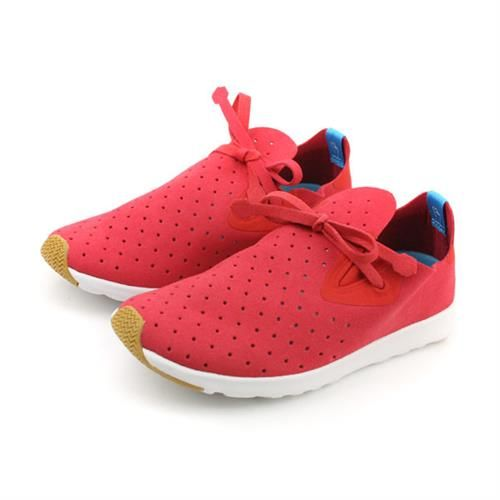 native APOLLO MOC 阿波羅系列 休閒鞋 紅色白色 男女鞋 no447
