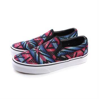 VANS Classic Slip-On 休閒鞋 黑色紅色 男女鞋 no453