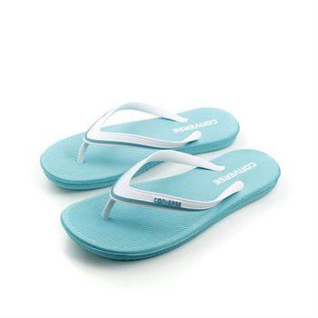 CONVERSE Sandstar Comfort 夾腳拖 拖鞋 水藍色 女鞋 no164