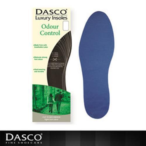【鞋之潔】英國伯爵DASCO強效耐用型除臭鞋墊 自由裁剪 雙倍除臭