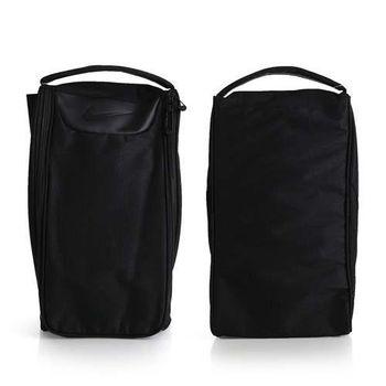 【NIKE】GOLF 高爾夫休閒包-鞋袋 高爾夫球 手拿袋 手提袋 黑