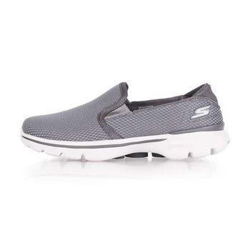 【SKECHERS】GO WALK 3-CHARISMA 女休閒健走鞋- 走路鞋 灰