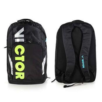 【VICTOR】後背包 -羽球包 雙肩包 登山 旅行包 勝利 黑青綠