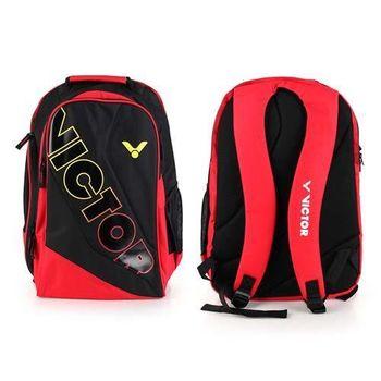 【VICTOR】後背包 -羽球包 雙肩包 登山 旅行包 勝利 黑紅黃