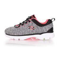 ~LOTTO~女健體步行跑鞋 ^#45 慢跑 健身 灰粉橘