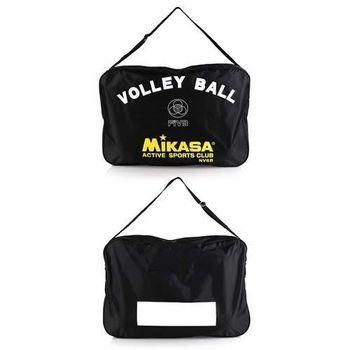 【MIKASA】排球袋 -6顆裝 手拿袋 手提袋 收納袋 黑黃白