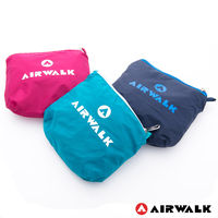~美國 AIRWALK~ 小袋不小 可折疊收納輕量隨身後背包 ^#45 共三色