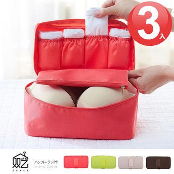 【雙藝】貼身衣物收納袋(大) 3入 隨機色
