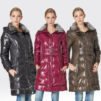 【SAMLIX山力士】JIS90%羽絨防潑水保暖大衣#31811