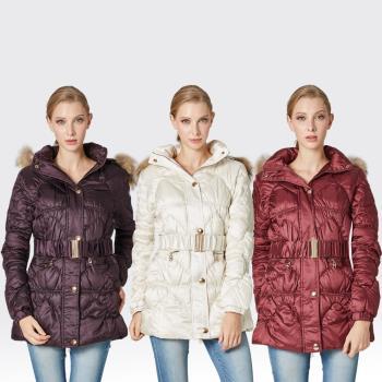 【SAMLIX山力士】JIS90%羽絨防潑水保暖外套#317