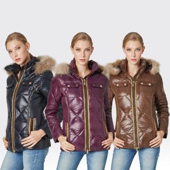 【SAMLIX山力士】JIS90%羽絨防潑水保暖外套#37812
