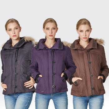 【SAMLIX山力士】JIS90%羽絨防潑水保暖外套#38812