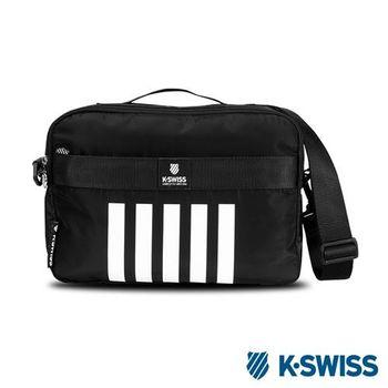 K-Swiss Shoulder Bag休閒斜背包-黑