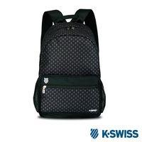 K~Swiss Allover Star Printted Backpack休閒後背包~黑