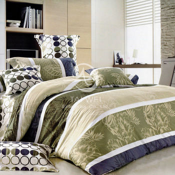 【卡莎蘭】格林雅致 雙人純棉七件式床罩組
