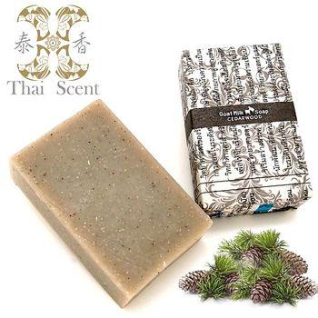 泰香 禾竹雪松山羊奶手工保養皂100g