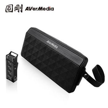 AVerMedia 圓剛 AW330 2.4GHz攜帶式無線教學擴音機組 領夾式行動教學機